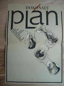 Dokonalý plán (filmový plakát, film ČSSR 1974, režie