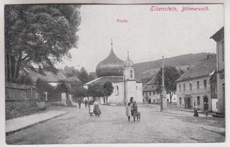 Železná Ruda (Eisenstein), Šumava, kostel