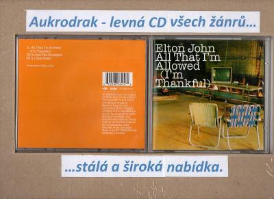 CDM/Elton John-All That I´ m Allowed