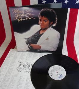 💥 LP: MICHAEL JACKSON - THRILLER, jako nová MINT!!!,1. press NL1982