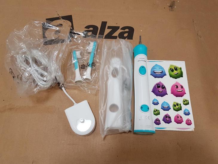 Elektrický zubní kartáček pro děti Philips Sonicare For Kids HX6322/04 - Péče o tělo