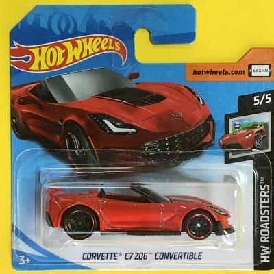 Corvette C7 Z06 Convertible - Hot Wheels 2019  95/250 (E8-h6)