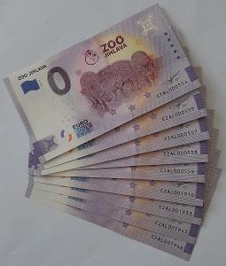 0 Euro Souvenir - ZOO JIHLAVA 2021 - nízká čísla