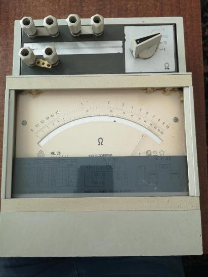 Měřící Přístroj MKL 20 - Elektronika