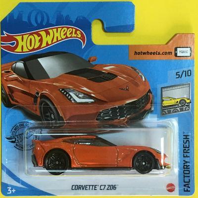 Corvette C7 Z06 - Hot Wheels 2020  200/250 (E8-h9)