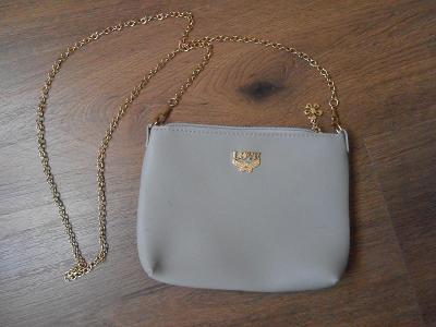 Šedá dámská kabelka - jako nová