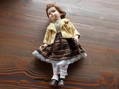 Keramická panenka   42cm - od 1kč
