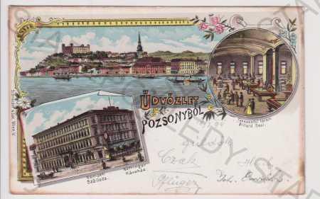 Slovensko - Bratislava / Pozsony - celkový pohled,