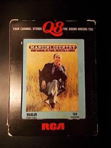 Q8 Quadrasonic ! Henry Mancini ........ 8 track originál kaseta