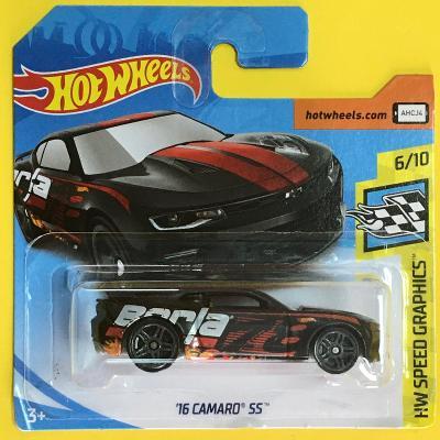 '16 Camaro SS - Hot Wheels 2019  82/250 (E11-m6)