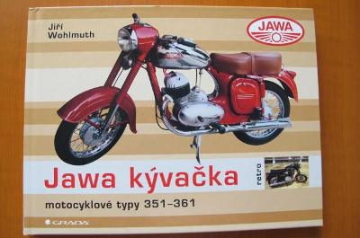 Jawa kývačka - motocyklové typy 351 - 361 - Motocykly JAWA
