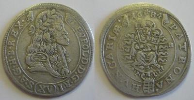 Leopold I. - KB - XV krejcar 1684