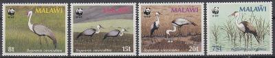 Malawi ** Mi.477-480 WWF Ptáci