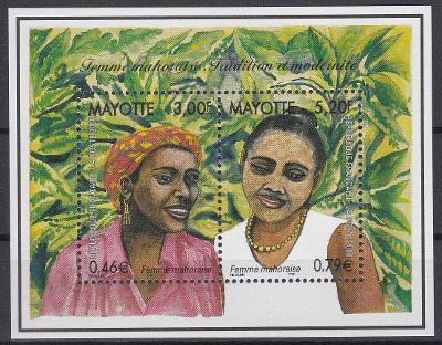 Mayotte ** Mi.Bl.3 Ženy