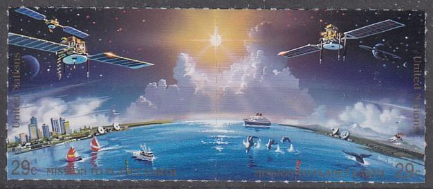 OSN - New York **  Mi.633-634  Výzkum vesmíru  KOMPLETNÍ !