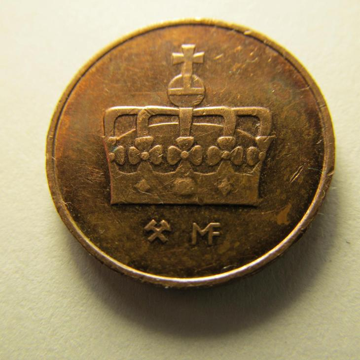 Norsko - 50 Ore z roku 2002 - Numismatika