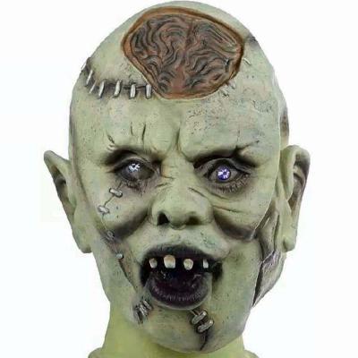 Halloweenská maska - zombie 73989