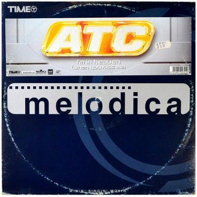 """Gramofonová deska ATC - I'm in heaven (When you kiss me) (12"""")"""