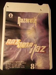 !! rar. UK verze NAZARETH ............ 8 track originál kaseta