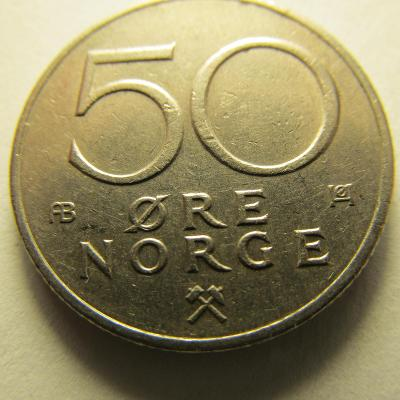 Norsko - 50 Ore  z roku 1979