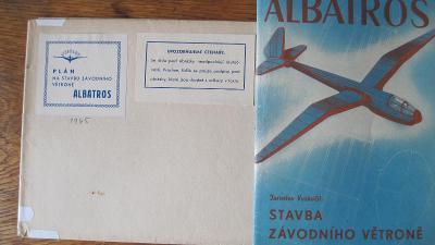 Prodám plánek s podrobným popisem větroně Albatros.