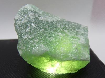 Avanturín - Zelený Křemen - Minerál surový vzorek Krystal 38g TOP A+++