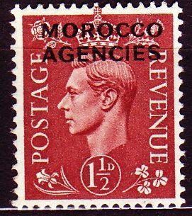 Maroko v Brit.správě - Filatelie