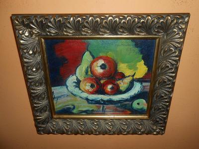 Obrazy z pozůstalostí-Překrásné staré dílo-Jan Bauch 1947 !!!!!!!!!!!