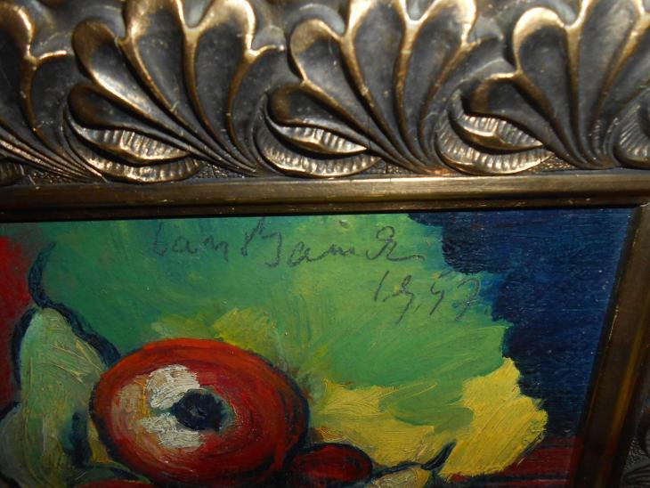 Obrazy z pozůstalostí-Překrásné staré dílo-Jan Bauch 1947 !!!!!!!!!!!  - Umění
