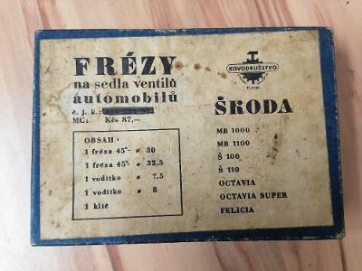 ŠKODA - FRÉZY NA SEDLA VENTILŮ - FELICIA , OCTAVIA , 1000MB , 1100