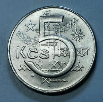 5KČS 1967 VZÁCNÁ TOP STAV RL
