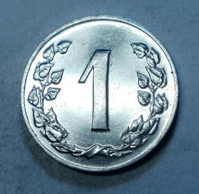 1H 1991 R VZÁCNÝ UNC STAV RL