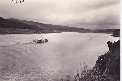 Šumava-Lipno -přehrada-vyhlídkové lodě-VF