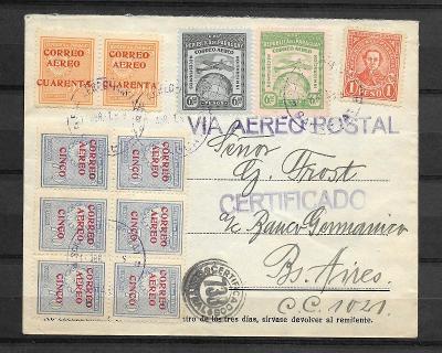 Graf Zepp., Paraguayfahrt/Südamerikaf.1931, Sg.126 E var., mim.vys.kat