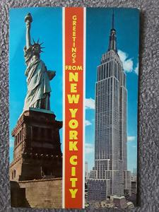 Pohlednice NEW YORK CITY