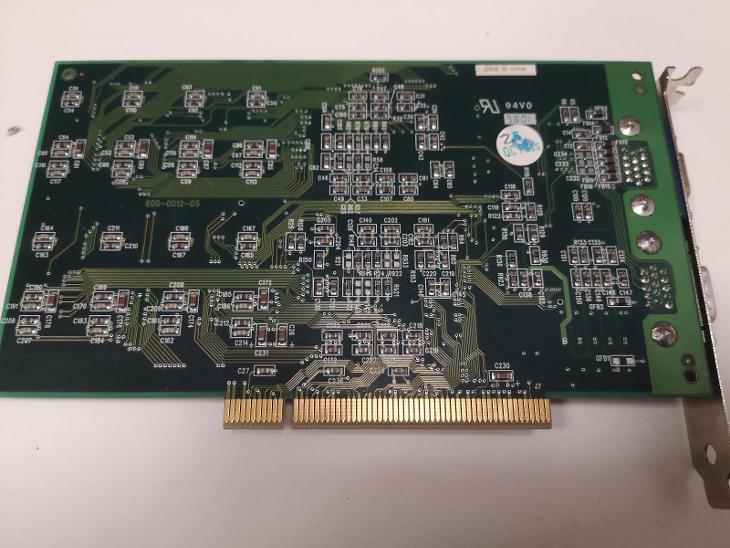 Grafika 3dfx 3D128 - Historické počítače
