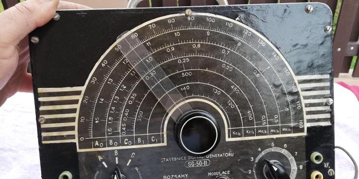 STAVEBNICE SIGNAL. GENERATORU : SG - 50-II - POŠTOVNÉ ZDARMA !!! - Elektronika