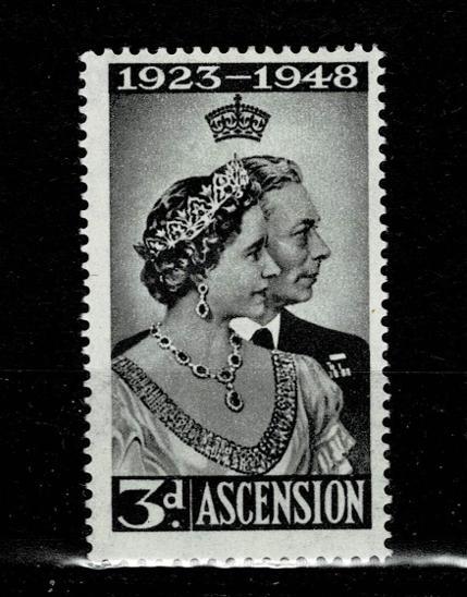 Ascension Island - Stříbrná svatba Mi 55* Nr.80 - Filatelie