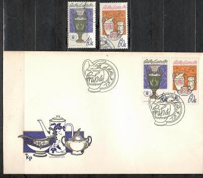 V7086   - FDC obálka prvního dne vydání + známky navíc