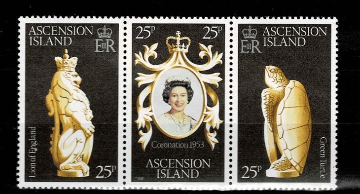 Ascension Island - 25.leté výročí vlády královny  Mi 229/31* Nr.80 - Filatelie