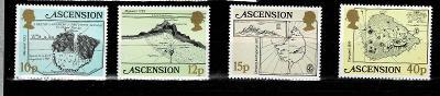 Ascension Island - Mapy ostrova Ascension  Mi 291/4* Nr.80