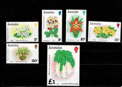 Ascension Island - Flora  Mi 277/81* Nr.81
