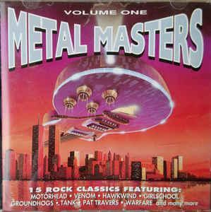 Various – METAL MASTERS Volume One - CD 1993 hard rock , metal