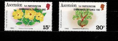 Ascension Island - Flora  Mi 326/7* Nr.81
