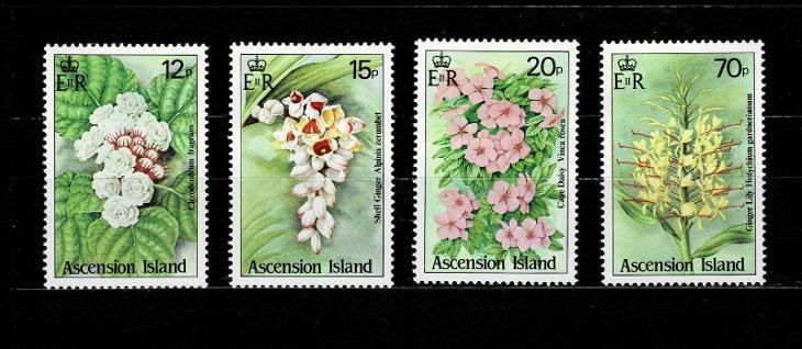 Ascension Island - Flora  Mi 390/3* Nr.81 - Filatelie