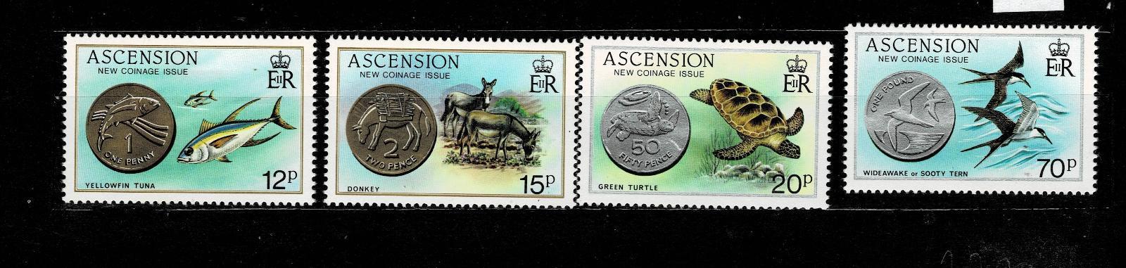 Ascension Island - Ryby  Mi 364/7* Nr.82 - Filatelie