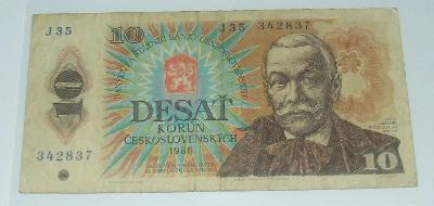 Československo 10 Kčs