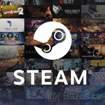 Steam klíče na hry