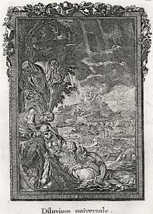 Potopa světa, mědiryt, (1790)