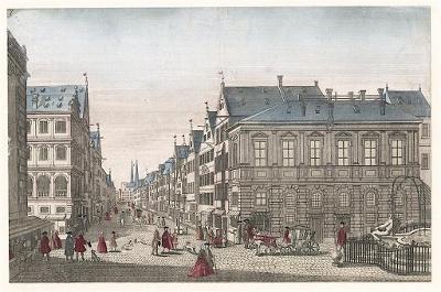 Augsburg, kolor. mědiryt, (1780)